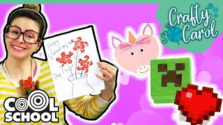 DIY Valentine's Day Gifts For Kids! | Cool School Compilation