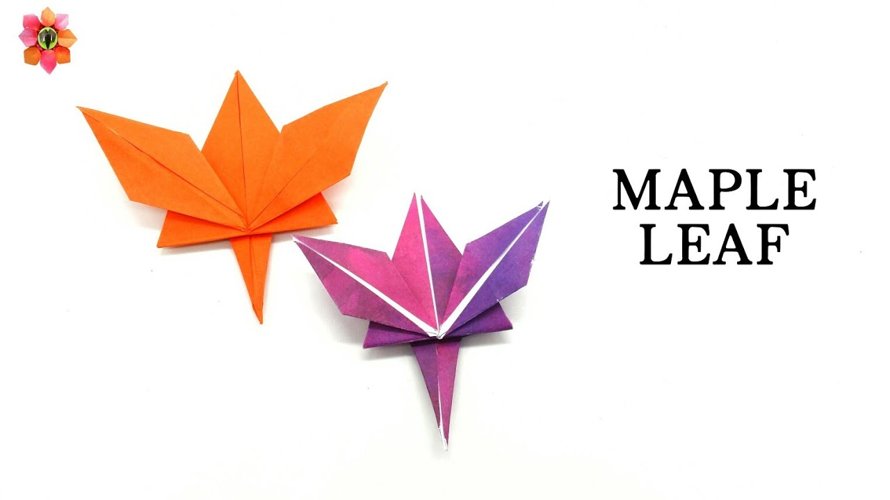 Maple Leaf for Thanks Giving - Origami DIY Tutorial - 7 ... - photo#18
