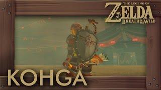 Zelda Breath of the Wild - Master Kohga Boss Battle