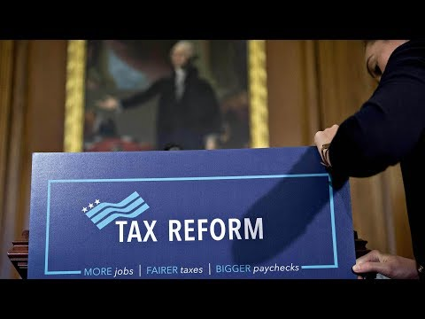 Trump unveils proposal for tax cuts, fueling deficit worries
