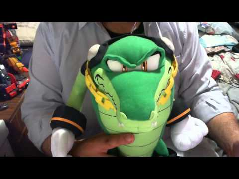 Vector The Crocodile Plush By Great Eastern Entertainment Review Youtube