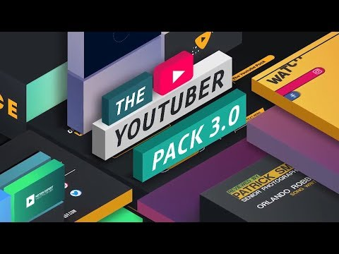 The YouTuber Pack For Adobe After Effects & Premiere Pro (Tutorial)