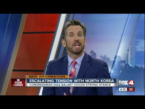 Rep. Mario Diaz-Balart supports strong stance on North Korea