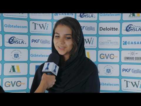 Round 7 Gibraltar Chess post-game interview with Sarasadat khademalsharieh