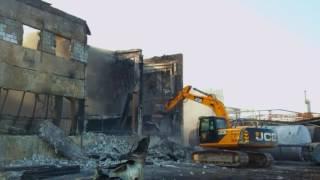 видео Демонтажные работы после пожара