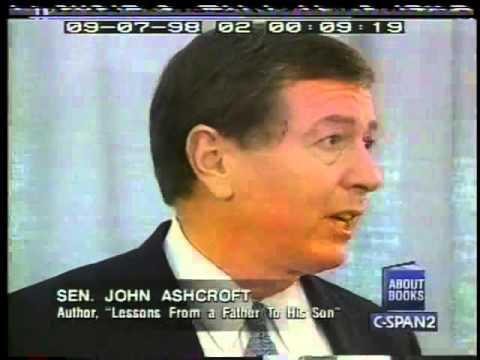 John Ashcroft Reveals the Many Lessons He Learned From His Father 1998