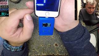 Let's test a Iphone with a tester, Iphone 6s not charging