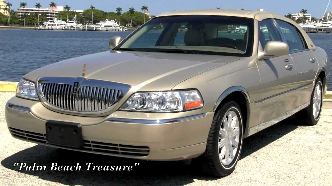 2007 Lincoln Town Car Signature Limited Series Cashmere Tri Coat Gulfstream Motorcars You