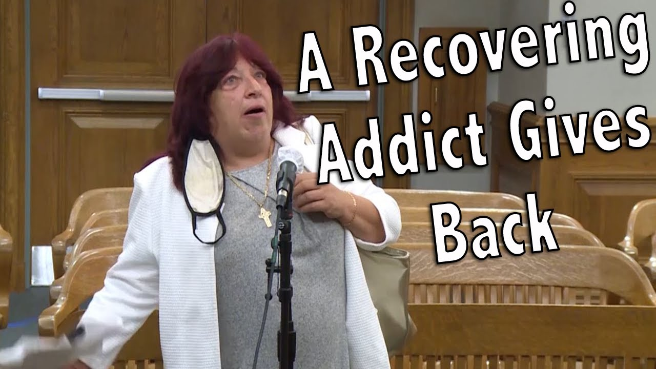 A Recovering Addict Gives Back
