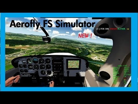 New Aerofly-FS  FULL SCALE SIMULATOR, Intro & Overview by NightFlyyer