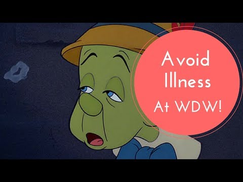 5 Ways to Avoid Getting Sick At Disney Parks