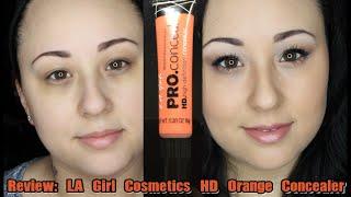 Review: LA Girl HD Pro Orange Concealer | MsNikkiGBeauty