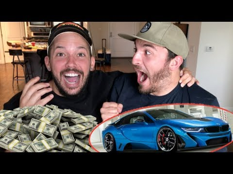 HOW I WON A BRAND NEW BMW AND MONEY!!