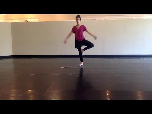 Miss Caroline Pre Ballet Tue 5:45 3/24