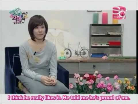 [COMPILATION] Tiffany (of Girls' Generation) talks to ...