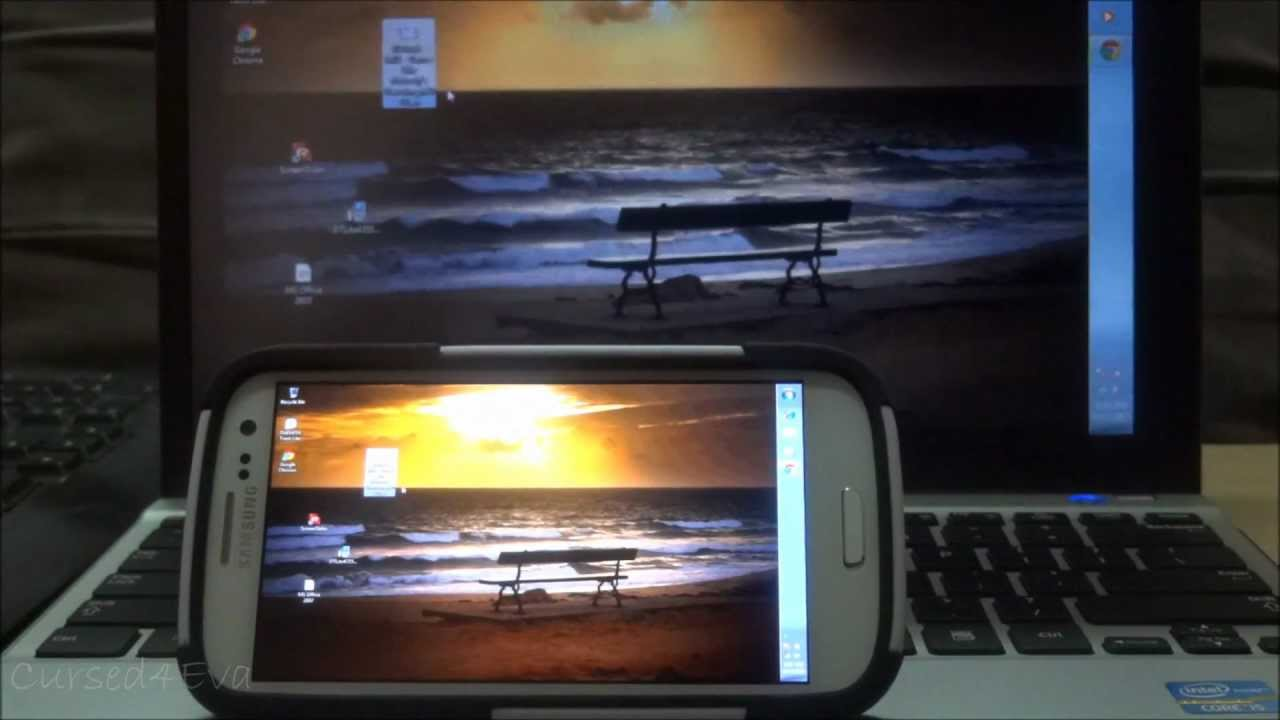 Modify Your Android 4 Use Your Phone Tablet As A Secondary Display Monitor Cursed4eva Youtube