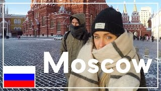 Exploring Moscow... Dangerously Cold!