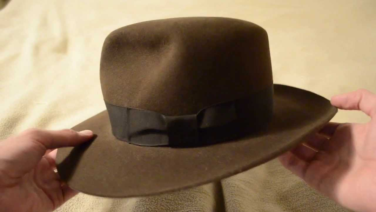 9868b16e11897 Adventurebilt Raiders fedora review - YouTube
