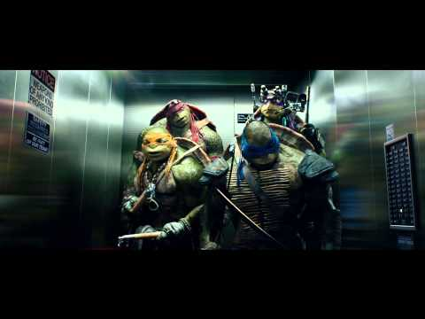"TEENAGE MUTANT NINJA TURTLES (3D) Clip ""Aufzug"" [HD]"