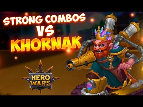 Strong Hero Combos #3  How to Defeat Khornak? | Hero Wars