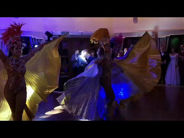Pokaz tańca na weselu 100% Samba Show