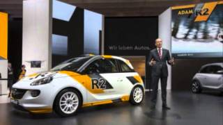 Opel Adam R2 Rally Car Concept 2013 Videos