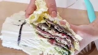밀푀유나베 레시피 전골요리 손님상차리기 메뉴 만드는법