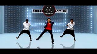 AlluArjun Badrinath Songs VFX Dance by RoopKumarPakam & Team