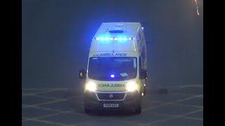 North West Ambulance Service / 2015 Fiat Ducato / Responding