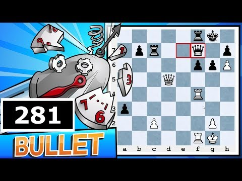 Bullet Chess #281: Calculation Practice - 21 games