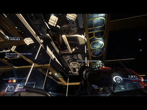 """PART 8: PREY Full Game Gameplay/Walkthrough Cargo Bay & Life Support """"Shipping and Receiving"""" (PS4)"""