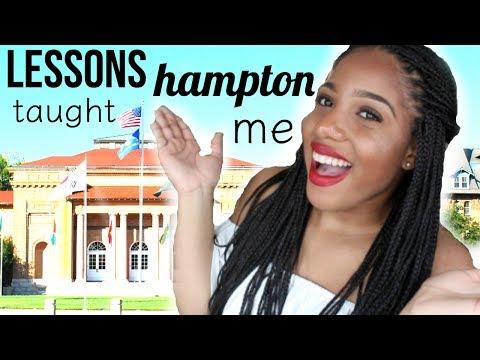 4 Lessons HBCUs Taught Me| Hampton University
