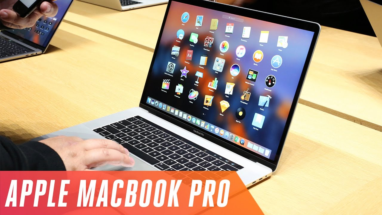 New Apple MacBook Pro first look - YouTube 22dbda7eed72
