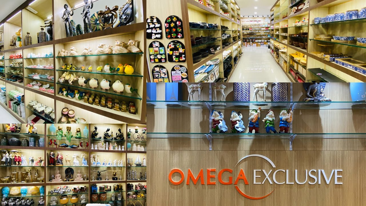 Omega Exclusive Part 2 Video Best Place In Chennai To Buy Gifts Home Decorative And Kitchen Items Youtube