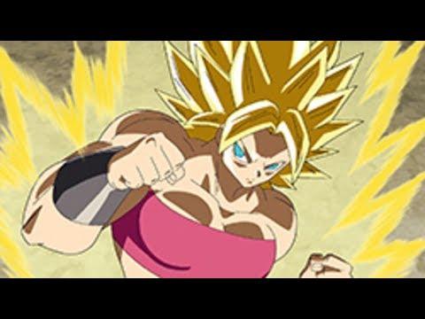Caulifla Super Sayajin Berserker? (Dragon Ball Super - Episódio 100)