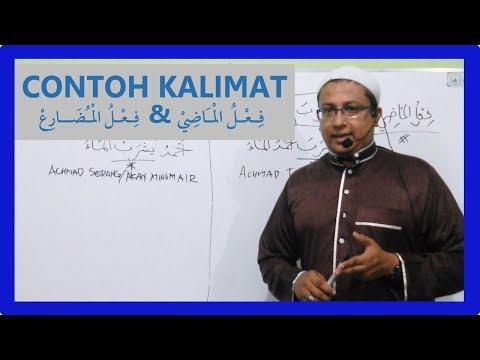 Contoh Kalimat Fi'il Madhi & Fi'il Mudhori' - Ustadz Musthofa Achmad Baradja