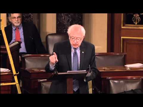 Sanders Filibuster Begins...
