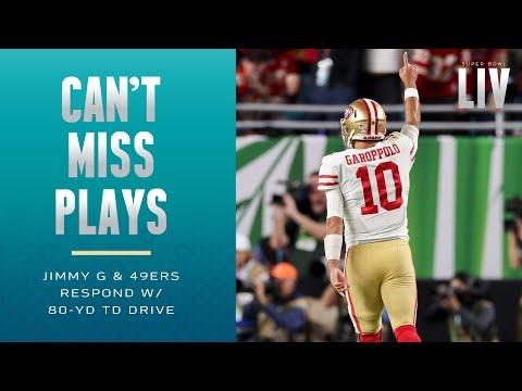 Jimmy G Responds W/ 80-Yd TD Drive!   Super Bowl LIV