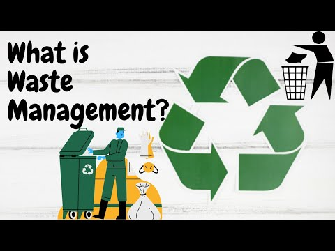 What is Waste Management? | Reduce Reuse Recycle | Environme