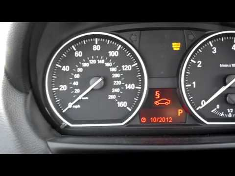 Bmw Warning Lights E90 >> BMW Service Reset, Brake Pad Reset, Spark Plug Reset, Vehicle Check Reset, 1 Series - YouTube