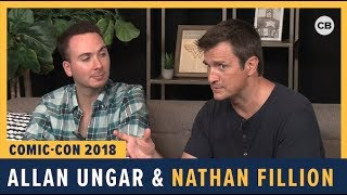 Allan Ungar and Nathan Fillion - SDCC 2018 Exclusive Interview