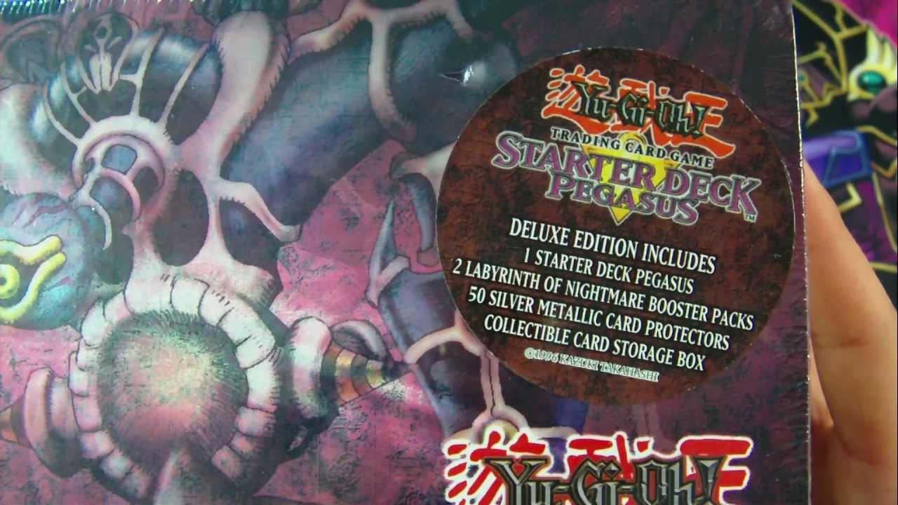 best yugioh 2003 starter deck pegasus deluxe edition