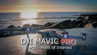 DJI Mavic Pro - Tutorial + Demonstração - Função POI (Point of Interest) - videoaula drone - Brasil