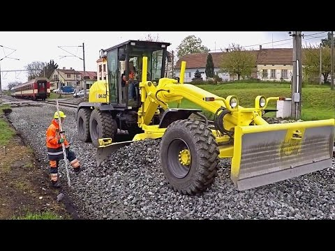 OaK grader with Tatra trucks - Day in work 12 (GoPro)