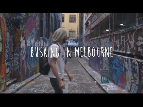 The Buskers Guide : Melbourne
