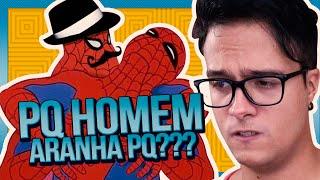 PQ HOMEM ARANHA? PQ??? || Manda Menes #09