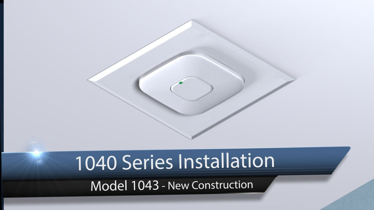 Oberon Model 1043 Recessed Hard Ceiling Wireless Access Point