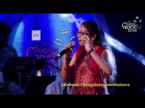 Om Mahaprana Deepam By Supriya Joshi @ 54th Bengaluru Ganesh Utsava, A Tribute To Hamsalekha Concert