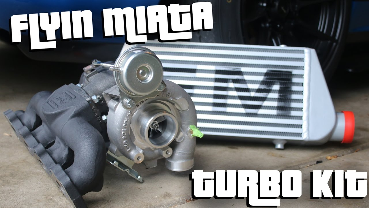 flyin miata turbo kit unboxing!! - youtube