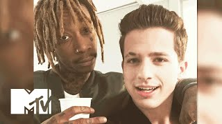 Charlie Puth Was 'Nervous' To Meet Wiz Khalifa For The First Time | MTV News